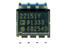 AD22151, датчик Холла, производитель Analog Devices